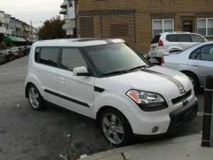 Kory Aversa Kia Soul Racing Stripes