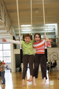 Kory Aversa Philadelphia School of Circus Arts Trapeze Kids