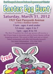 East Passyunk Ave Hosts Annual Egg Hunt with a Special Surprise