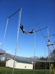 It's Time to Fly!  Flying Trapeze Spring Season Opens May 5th in Bucks County