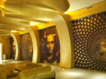 Yellow conference lounge at Revel Resorts