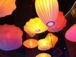 Beautiful lights above Revel Resorts casino floor