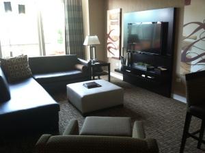 Suite at Golden Nugger Casino in Atlantic City