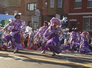 Mummers New Year's Day