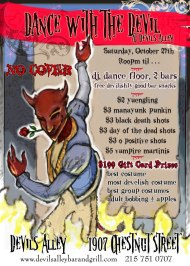 The Devil Fires Up Sweet and Hot Menu for Halloween Dinner & Dance Party