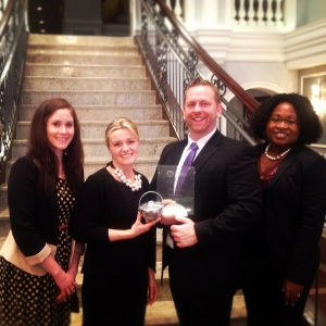 2012-12-04 23.00.37, PRSA philly, Pepperpot award, pr, social media, aversa pr, diner en blanc