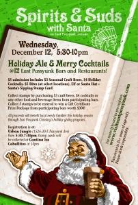 East Passyunk Avenue, South Philadelphia, Philadelphia, Philly, Drinks, Cocktails, Food, Spirits, Santa, Bar Crawl,