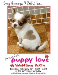 Celebrate Your Four-Legged Friends at Puppy Love Valentines Party