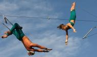 Fly School Circus Arts Brings PIFA to New Heights with Tonight's Trapeze Shows