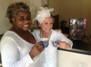 Diner en Blanc's Natanya DiBona stops by Oliver and Company Tea Room