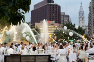 Diner en Blanc Brings White Hot Party Back to Philadelphia