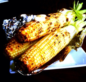 Grilled Corn at Serrano Street Fare in Old City District; Debuts During Inside Out Festival