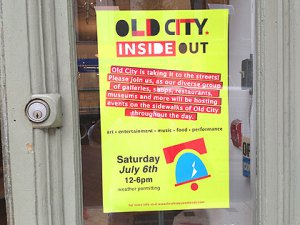 Old City District Inside Out Festival