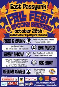 East Passyunk Fall Fest and Spooky Saturday Flyer