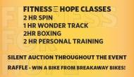 Burn Holiday Calories and Spread Good Will at Fitness for Hope at SweatFitness