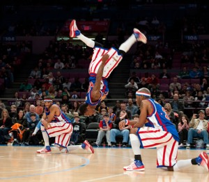 Bull Flip, Harlem Globetrotters, Free Tickets, Family Fun