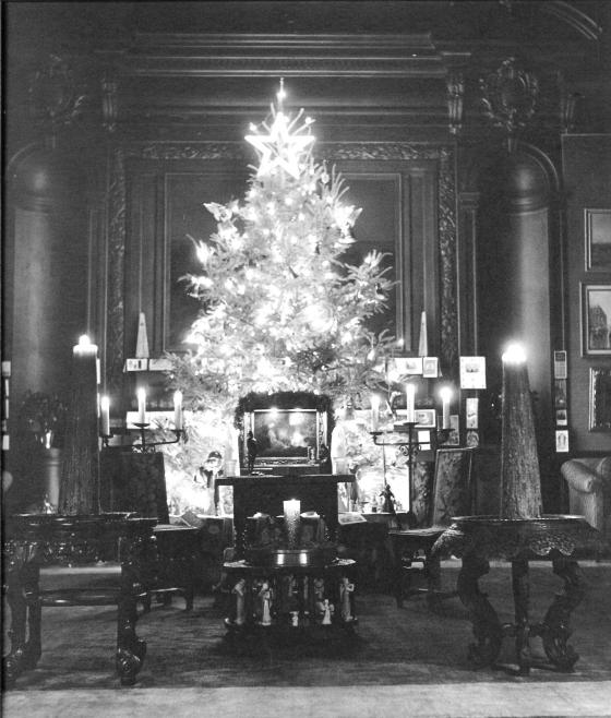 Historic Art Gallery  Christmas Tree