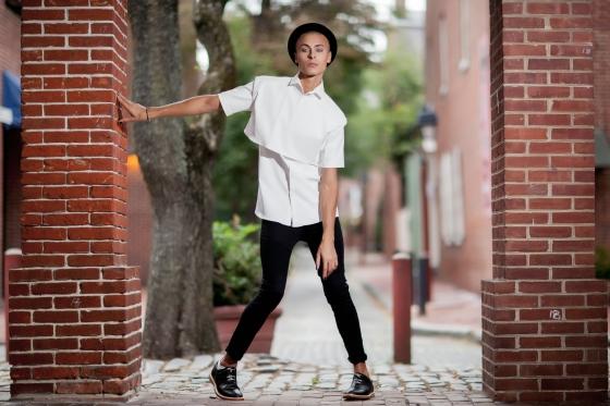 Aubrey Lostus , Conrad Booker, Fashion Under the Shambles, Philadelphia Collection, Fashion Show, Headhouse Square, Shambles, South Street, Cory Wade, Aversa PR