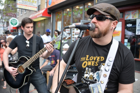 Jay Skull in Spades was one of 40 bands that rocked South Street.JPG