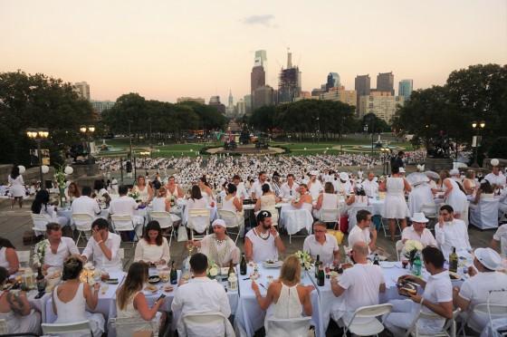 Diner en Blanc, Philadelphia